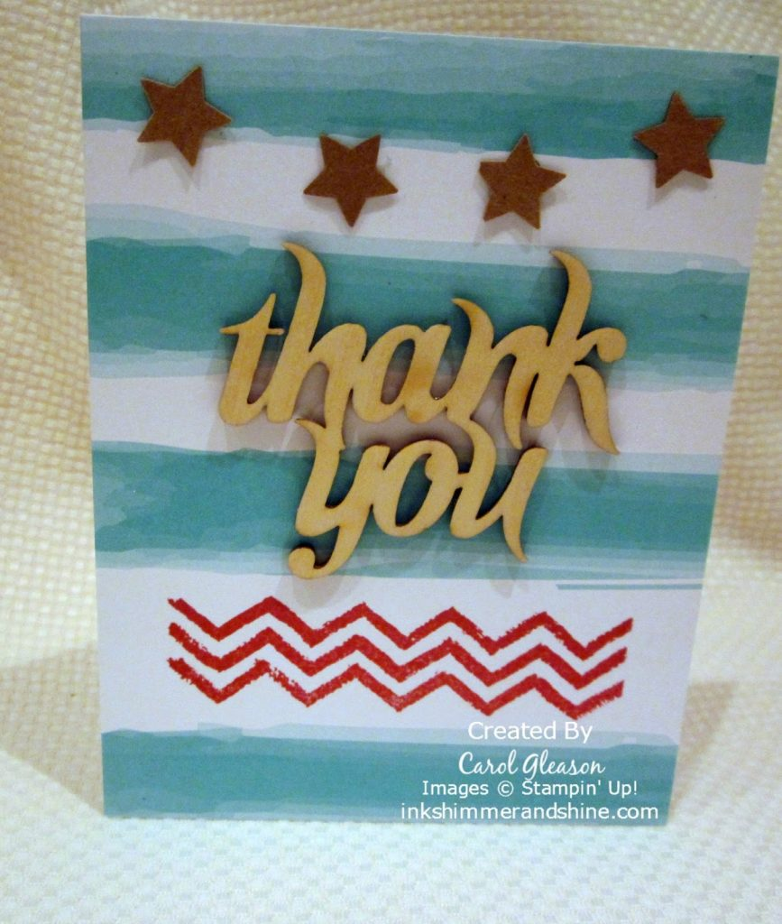 Glittered Greetings Paper Pumpkin Cards